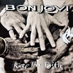 BON JOVI ''Keep The Faith'' (1992 France press, 514 197-2, matrix 00 L7, ex+/mint) (CD)