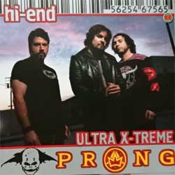 PRONG ''Hi-End Ultra X-Treme'' (2003 Russian RARE press, 5625467565, ex+/mint) (2xCD)
