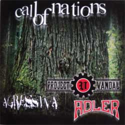 CALL OF NATIONS (3-way split): ADLER + PROJECT VANDAL + AGRESSIVA (CD)