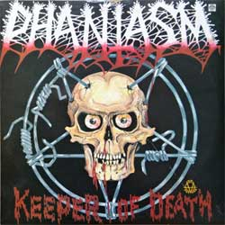 винил LP PHANTASM ''Keeper Of Death'' (1993 Russian RARE press, R60 01833, laminated, зак.220, тир.15000, mint/mint)