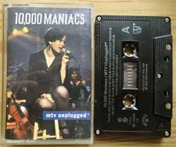 аудиокассета 10,000 MANIACS ''MTV Unplugged'' (1993 Canada press, 96 15694, mint/mint) (MC2476)