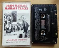 аудиокассета 10,000 MANIACS ''Maniacs Tracks'' (1993 Canada RARE PROMO ONLY press, SAMC 369, mint/mint) (MC2512) (D)