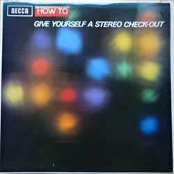 винил LP УСТАНОВОЧНЫЙ ДИСК: HOW TO GIVE YOURSELF A STEREO CHECK-OUT (1967 UK press, laminated, SKL 4861, ex/ex+)
