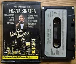 аудиокассета FRANK SINATRA ''New York New York'' (1983 German press for Scandinavia, CrO2, 92-3927-4,  mint/vg+) (MC2562)