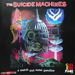 SUICIDE MACHINES ''A Match And Some Gasoline'' (2003 Russian RARE press, limited edition, CDREAL0403603, near mint/mint) (CD-R)