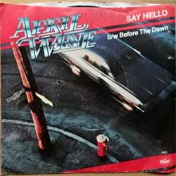 винил LP APRIL WINE ''Say Hello/Before The Dawn'' (7''single) (1979 USA press, 4802, vg+/vg+)