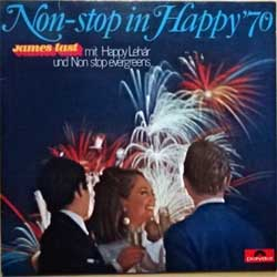 винил LP JAMES LAST ''Non-Stop In Happy '70'' (1970 German press, laminated, 641 518, vg+/ex)