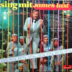 винил LP JAMES LAST ''Sing Mit'' (1973 German press, laminated, 2371 358, vg+/ex)