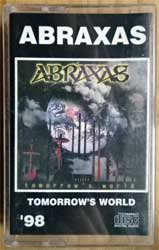 аудиокассета ABRAXAS ''Tomorrow's World'' (1998 Russian RARE press, 1074, ex/mint) (MC2569)