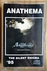 аудиокассета ANATHEMA ''The Silent Enigma'' (1995 RI Russian press, 115, near mint/mint) (MC2572)