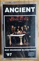 аудиокассета ANCIENT ''Mad Grandiose Bloodfiends'' (1997 Russian RARE press, 473, ex/mint) (MC2573)