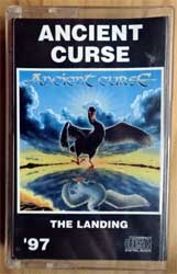 аудиокассета ANCIENT CURSE ''The Landing'' (1997 Russian RARE press, 417, near mint/mint)  (MC2574)