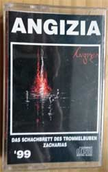 аудиокассета ANGIZIA ''Das Schachbrett Des Trommelbuben Zacharias'' (1999 Russian RARE press, 576, near mint/mint) (MC2577)