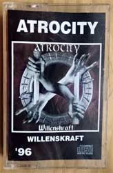 аудиокассета ATROCITY ''Willenskraft'' (1996 Russian RARE press, 224, near mint/mint) (MC2583)