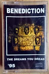 аудиокассета BENEDICTION ''The Dreams You Dread'' (1995 RI Russian RARE press, 091, near mint/mint) (MC2588)