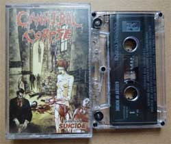 аудиокассета CANNIBAL CORPSE ''Gallery Of Suicide'' (1998 Russian press, ex/ex) (MC862)
