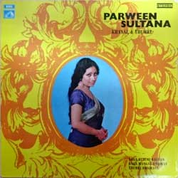 винил LP India: PARVEEN SULTANA ''Khayal And Thumri'' (1973 India RARE press, ECSD 2731, vg+/vg) (D)