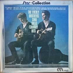 "винил LP EVERLY BROTHERS ""The Everly Brothers Sing Great Country Hits (Star-Collection)"" (1963 RI 1975 Holland press, laminated, vg+/ex-)"
