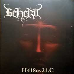 винил LP BEHERIT ''H418ov21.C'' (1994 RI 2019 Finland press, insert, KVLT016LP, mint/mint, new) (D)