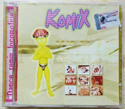 KOMIX ''King (Dance Remix Locomotive)'' (2002 Russian RARE press, KTL02-671, mint/mint) (CD)