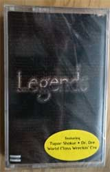 аудиокассета 2PAC/DR.DRE ''Legends'' (1997 USA press, original hype sticker, RR1-8802-4, mint/mint, still sealed) (MC2877) (D)