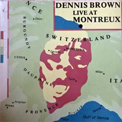 винил LP DENNIS BROWN ''Live At Montreux'' (1979 German press, ATL 50 654, vg+/ex)