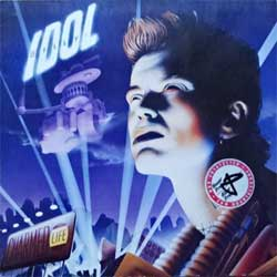 винил LP BILLY IDOL ''Charmed Life'' (1990 German press, RARE CLUB edition, insert, 472126, vg+/vg+)