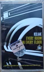 аудиокассета KOJAK ''Every Room On Every Floor'' (2003 Russian press, 076 109-4, mint/mint, still sealed) (MC1939)