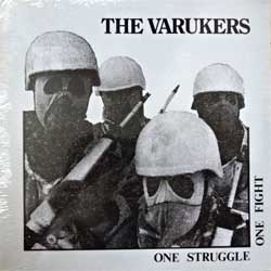 винил LP VARUKERS ''One Struggle One Fight'' (1984 RI 2010 Italy press, RRS03, mint/mint, still sealed!!!)