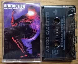 аудиокассета BENEDICTION ''Grind Bastard'' (1998 Russian RARE press, 3277, near mint/mint) (MC2909)