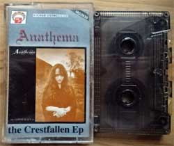 аудиокассета ANATHEMA ''The Crestfallen EP'' (1992 Poland RARE press, MG 2633-1110, ex+/ex+) (MC2919)