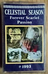 аудиокассета CELESTIAL SEASON ''Foever Scarlet Passion'' (1993 RI 1995 Russian RARE press, 0027-95, ex/ex+) (MC2930)