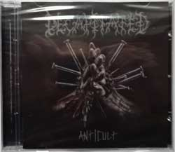 DECAPITATED ''Anticult'' (2017 Russian press, NB 3925-2, new, sealed) (CD)