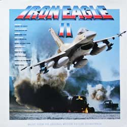винил LP va IRON EAGLE-II - OST (1988 Holland press, EPC 463286 1, ex/ex)
