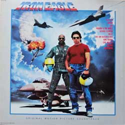винил LP va IRON EAGLE - OST (1986 USA press, SV-12499, ex-/ex-)
