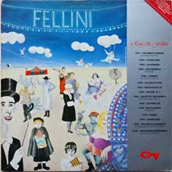 винил LP NINO ROTA ''Rota & Fellini'' (1987 Italy press, LCM 33451, ex-/ex-)