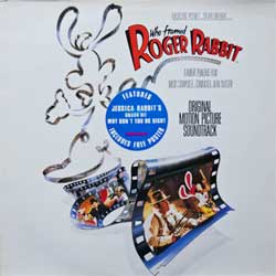 винил LP ALAN SILVESTRI ''Who Framed ROGER RABBIT - OST'' (1988 Holland press, TCH 463059 1, ex+/ex)