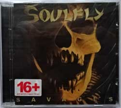 SOULFLY ''Savages'' (2013 Russian press, NB 3161-2, new, sealed) (CD)