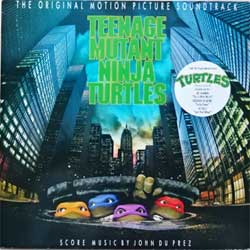 винил LP va TEENAGE MUTANT NINJA TURTLES - OST (1990 EEC press, insert, 064-7910661, ex-/ex-)