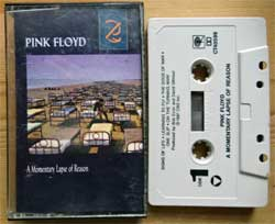 аудиокассета PINK FLOYD ''A Momentary Lapse Of Reason'' (1987 USA press, Dolby, OCT 40599, mint/near mint) (MC3019)