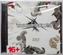 DIE APOKALYPTISCHEN REITER ''Tief''  (2014 Russian press, NB 3226-2, new, sealed) (CD)