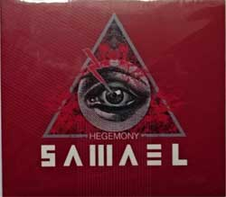 SAMAEL ''Hegemony'' (2017 Russian press, bonustrack, SZCD 9391-17, new, sealed) (digipak) (CD)