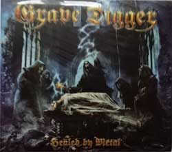 GRAVE DIGGER ''Healed By Metal'' (2017 Russian press, bonustracks, SZCD 1408-17, new, sealed) (digipak) (CD)
