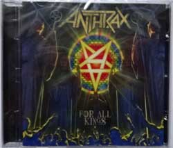 ANTHRAX ''For All Kings'' (2016 Russian press, NB 3567-2, new, sealed) (CD)