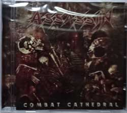 ASSASSIN ''Combat Cathedral'' (2016 Russian press, SPV 269422 CD, new, sealed) (CD)