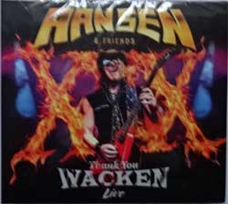 HELLOWEEN, GAMMA RAY (HANSEN & FRIENDS) ''Thank You Wacken Live'' (2017 Russian press, 0211944EMU, new, sealed) (digipak) (CD+DVD)