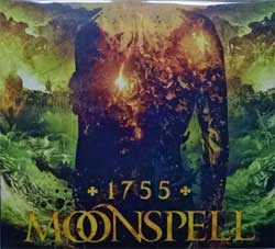 MOONSPELL ''1755'' (2017 Russian press, bonustrack, SZCD 9401-17, new, sealed) (digipak) (CD)