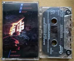 аудиокассета MSG (McAULEY SCHENKER GROUP) ''Save Yoruself'' (1989 USA press, Dolby HX PRO, B NR, XDR, C4-92752, ex-/ex+) (MC3094)