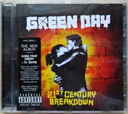 GREEN DAY ''21st Century Breakdown'' (2009 EU press, sticker, 9362-49802-1, near mint/ex+) (CD)