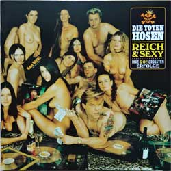DIE TOTEN HOSEN ''Reich & Sexy'' (1993 German press, TOT 51/724383914128, near mint/near mint) (CD)